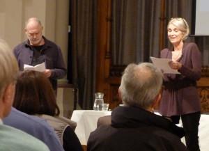 Ewan Stewart and Clare Byam-Shaw